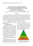 Sử dụng phương pháp mô phỏng trong giảng dạy môn học cấu trúc dữ liệu và giải thuật