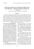 Tiểu thuyết Quốc ngữ Nam Bộ cuối thế kỷ XIX đầu thế kỷ XX – Một số vấn đề còn tranh cãi