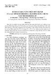Đánh giá khả năng phân huỷ hệ sợi của Lục bình Eichhornia crassipes bằng chủng nấm trichoderma SP
