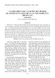 Vai trò chiến lược của đường Hồ Chí Minh qua đánh giá của báo chí và các nhà nghiên cứu Phương Tây