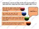 Bài giảng điện tử học phần Quản lý nhà nước về tài nguyên và môi trường: Chương 6 – ĐH Thương mại