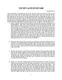 Thử viết lại Cổ sử Việt Nam - Trương Thái Du