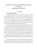 Luận văn: Chủ quyền của Việt Nam đối với hai quần đảo Hoàng Sa và Trường Sa