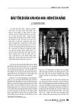 Bảo tồn di sản văn hóa Hán - Nôm ở Đà Nẵng