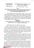 Đề án số 104/ĐA-UBND