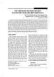 Phát hiện người lành mang gen bệnh và chẩn đoán trước sinh bệnh Hemophilia A