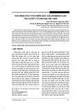 Khả năng kích thích miễn dịch của Arabinoxylan tách chiết từ cám gạo Việt Nam
