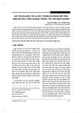 Giá trị của AMH, FSH và AFC trong dự đoán đáp ứng kém với kích thích buồng trứng thụ tinh ống nghiệm