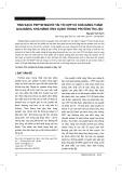 Tinh sạch Peptid người tái tổ hợp có khả năng thấm qua màng, khả năng ứng dụng trong protein trị liệu