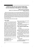 Nghiên cứu độc tính cấp và bán trường diễn của cao Hoàng kinh trên động vật thực nghiệm