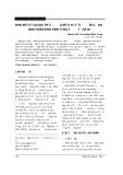 Nhận xét kết quả điều trị và một số yếu tố tiên lượng ở bệnh nhân động kinh tại Ba Vì - Hà Nội