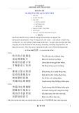 tự học chữ nôm căn bản: phần 8 - lê văn Đặng