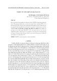 Nghiên cứu tổng hợp vật liệu TiO2/CNTs