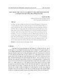 Thực trạng việc làm của lao động nữ nông thôn trong độ tuổi lao động ở huyện Vĩnh Linh, tỉnh Quảng Trị