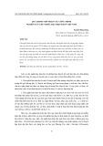 Quá trình tiếp nhận các công trình nghiên cứu chủ nghĩa hậu hiện đại ở Việt Nam