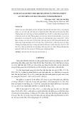 Đánh giá giảm phát thải khí nhà kính của phương pháp ủ so với chôn lấp chất thải rắn ở Thành phố Huế
