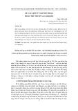 Hư cấu lịch sử và huyền thoại trong tiểu thuyết G.G.Márquez