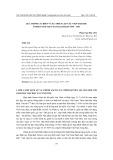 Quá trình cải biến và sự thiết lập các viện Đại học ở miền Nam Việt Nam giai đoạn 1954-1957