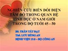 Báo cáo chuyên đề: Nghiên cứu biến đổi điện tâm đồ trong quan hệ tình dục ở nam giới trong độ tuổi 45-50 - BS. Trần Tấn Đạt, ThS. Lưu Hùng An