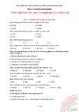 Tài liệu Tổng hợp 1090 câu trắc nghiệm Địa lí 12: Phần 1