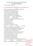 Tài liệu Tổng hợp 1090 câu trắc nghiệm Địa lí 12: Phần 2