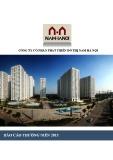 Báo cáo thường niên 2015: Công ty cổ phần phát triển đô thị Nam Hà Nội