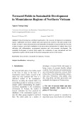 Terraced fields in sustainable development in mountainous regions of northern Vietnam