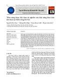 Tiềm năng than, khí than và nghiên cứu khả năng khai thác khí than tại Miền võng Hà Nội