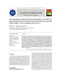 """Phương pháp xác định thế trọng trường W0lc và chênh cao giữa mặt nước biển trung bình với mặt GEOID toàn cầu EGM 2008 ở điểm """"0"""" độ cao bằng số liệu GPS‐TC"""