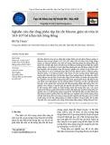 Nghiên cứu địa tầng phân tập lát cắt Miocen giữa và trên lô 103-107 bể trầm tích Sông Hồng