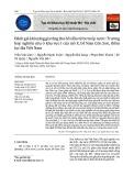 Đánh giá khả năng gia tăng thu hồi dầu từ bơm ép nước: Trường hợp nghiên cứu ở khu vực I của mỏ X, bể Nam Côn Sơn, thềm lục địa Việt Nam