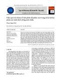 Hiệu quả của tham số tích phân độ phân cực trong xử lý tài liệu phân cực kích thích dòng một chiều