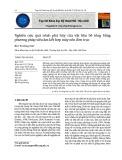 Nghiên cứu quá trình phá hủy của vật liệu bê tông bằng phương pháp siêu âm kết hợp máy nén đơn trục