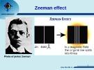 Bài giảng Cơ lượng tử - Bài: Ôn lại các hiệu ứng Zeeman