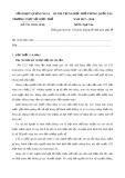 Đề thi thử THPT Quốc gia môn Ngữ Văn năm 2018 - THPT Số 2 Đức Phổ