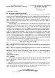 Đề thi thử THPT Quốc gia môn Ngữ Văn năm 2018 - THPT Tam Dương - Yên Lạc 2