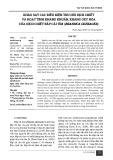 Khảo sát các điều kiện thu hồi dịch chiết và hoạt tính kháng khuẩn, kháng oxy hóa của dịch chiết bắp cải tím (Brassica oleracea)