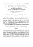 Thu nhận thức ăn, tiêu hóa, cân bằng nitơ và dẫn xuất Purine trong nước tiểu của dê khi cho ăn keo dậu (Leucaeana leucocephala) và Stylo (Stylosanthes guianensis)