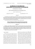 Ảnh hưởng của xử lý chất chống nâu hóa đến chất lượng và tuổi thọ của quả đào Lào Cai bảo quản lạnh