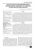 Bước đầu khảo sát tình hình nhiễm khuẩn, nấm men, nấm mốc trên bò khô và cá bống kho tại một số địa bàn tỉnh Quảng Ngãi