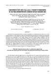 Phát triển dòng lúa (Oryza sativa L.) chống chịu ngập thông qua khai thác nguồn gen Sub1 để chuyển vào giống lúa địa phương và dòng cải tiến