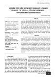 Nghiên cứu điều kiện thủy phân và lên men ethanol từ vỏ xoài sử dụng nấm men Saccharomyces cerevisiae