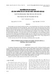 Ảnh hưởng của Axit salicylic đến sinh trưởng của cây con dưa chuột trong điều kiện hạn