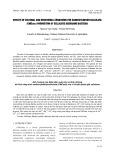 Ảnh hưởng của điều kiện nuôi cấy và dinh dưỡng tới khả năng sinh Carboxylmethylcellulase (Cmcase) của vi khuẩn phân giải cellulose