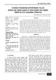 Vi nấm Fusarium oxysporum VL1.23: phân lập, định danh và khả năng gây bệnh trên cá Lóc (Channa striata)
