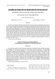 Ảnh hưởng của phương pháp thụ tinh đến năng suất sinh sản của gà Hồ