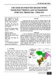 Ứng dụng gis phân tích khoảng trống trong phát triển du lịch tại thành phố Vũng Tàu, tỉnh Bà Rịa - Vũng Tàu
