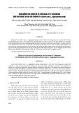 Ảnh hưởng của nồng độ và thời gian xử lý colchicine đến khả năng tạo đa bội ở hành củ (Allium cepa l., aggregatum group)