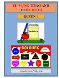 Ebook Từ vựng Tiếng Anh theo chủ đề (quyển 1)