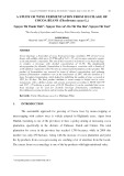 A study of wine fermentation from mucilage of cocoa beans (theobroma cacao l.)